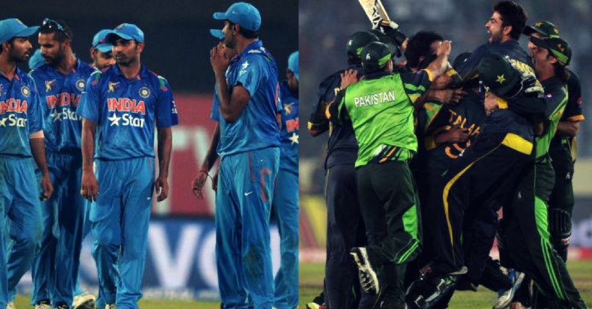 Pakistan, Thanks for Defeating Us! An Open Letter by an Indian Cricket Fan.
