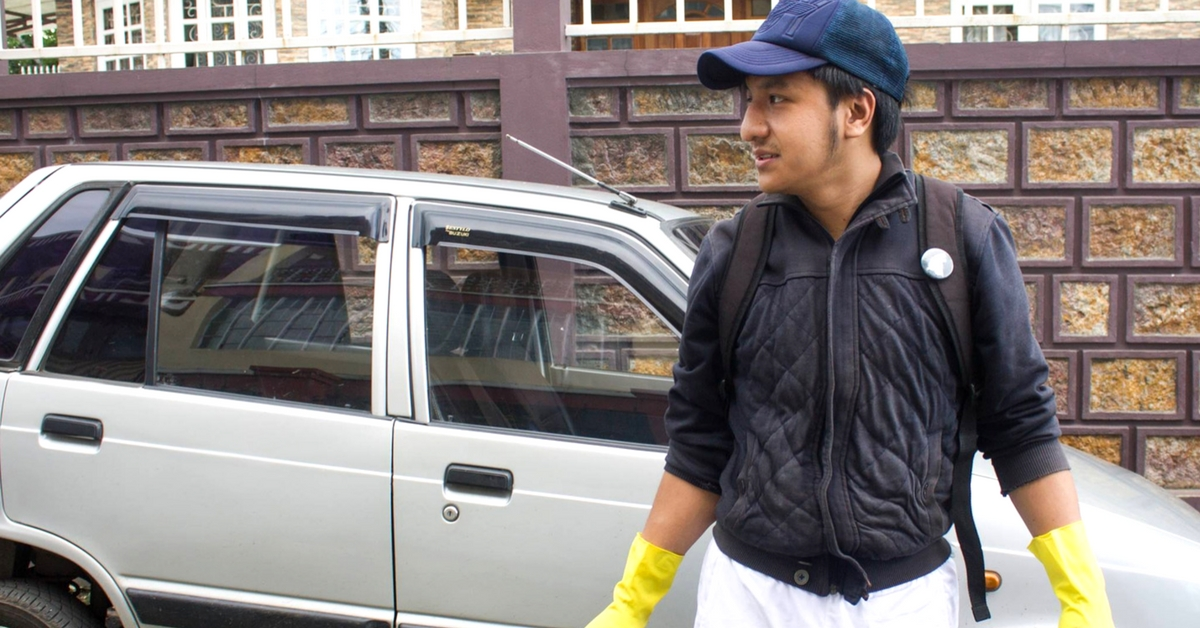 One Man Is on a Mission to Clean the Streets of Shillong, With a Little Help From Social Media