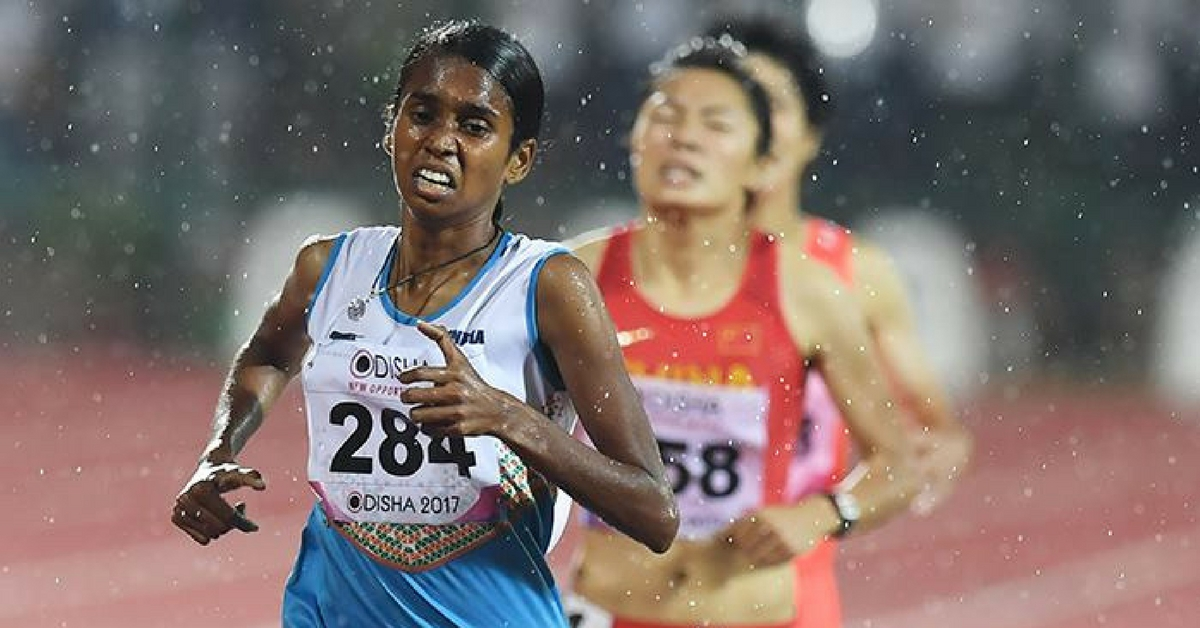 22-Year-Old From a Small Kerala Village Bags Gold at Asian Championships & Will Now Go to London