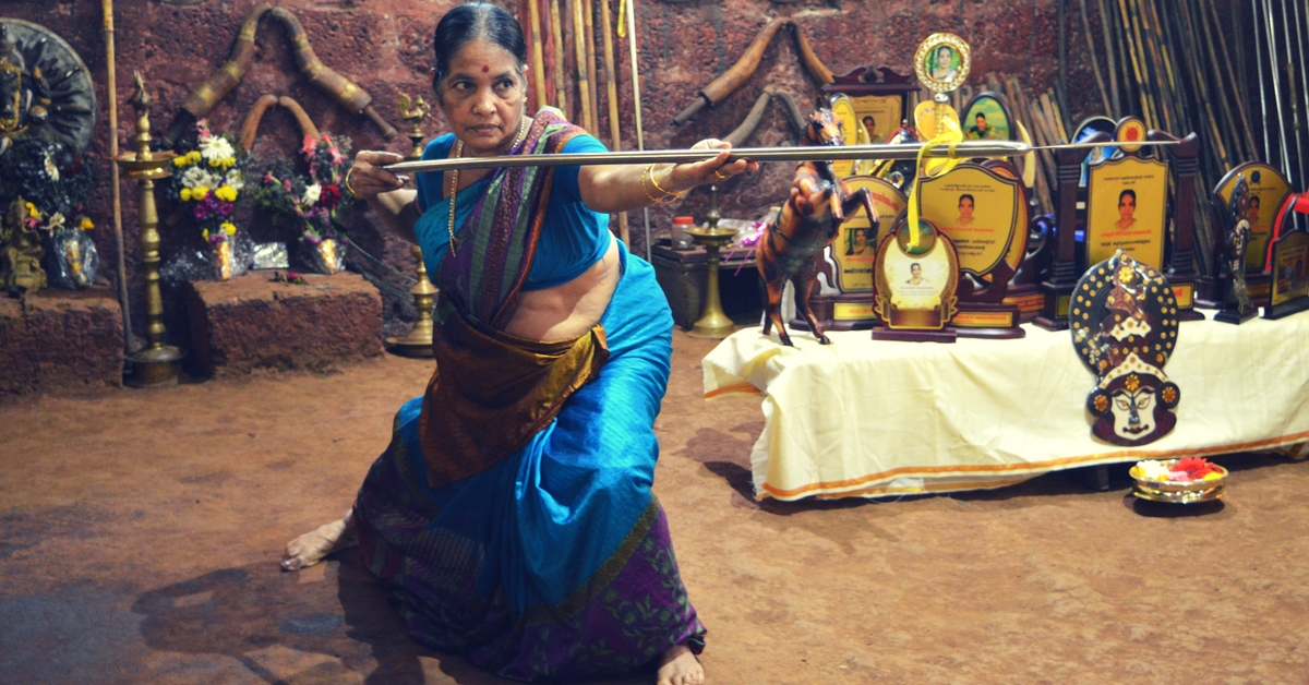 Women Who Slay – Kerala's Oldest Martial Art Granny Is Over 70 & Can Still Swirl a Mean Sword