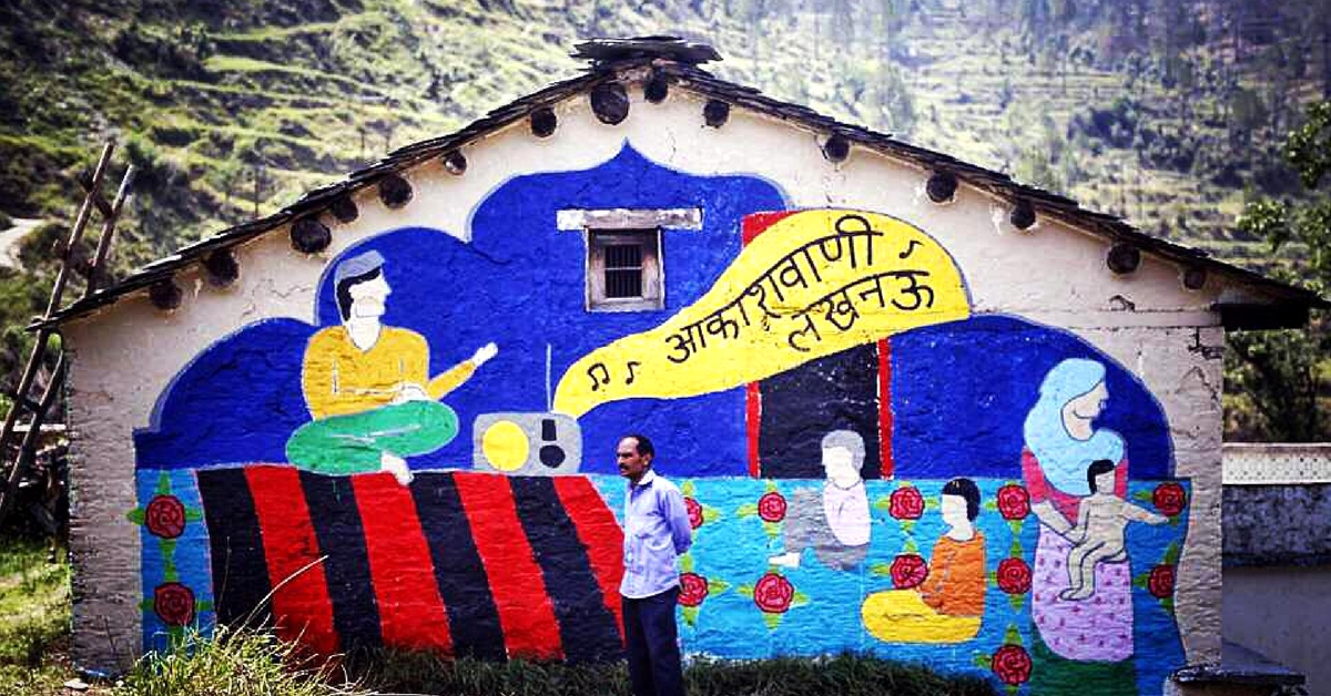 In This Ghost Village of Uttarakhand, the Past Comes Alive on Its Painted Walls