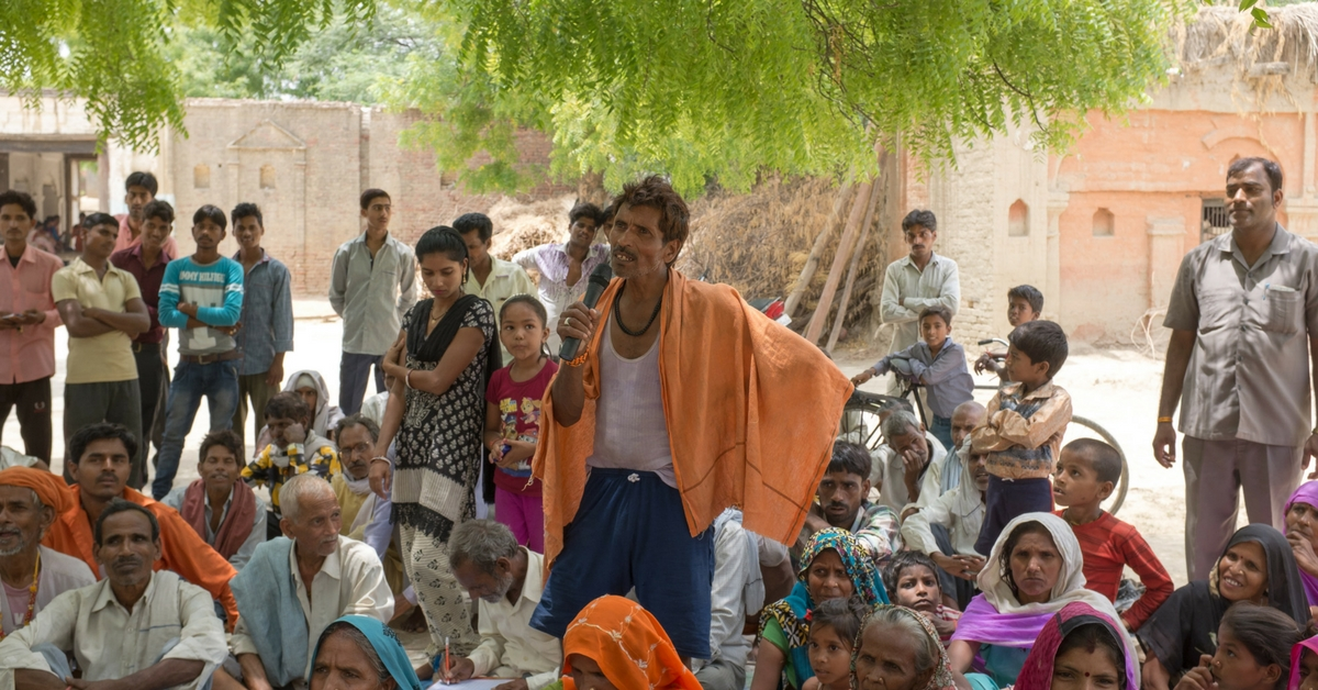 A UP Initiative Is Helping Its Villagers Save & Conserve Water Through Problem Solving