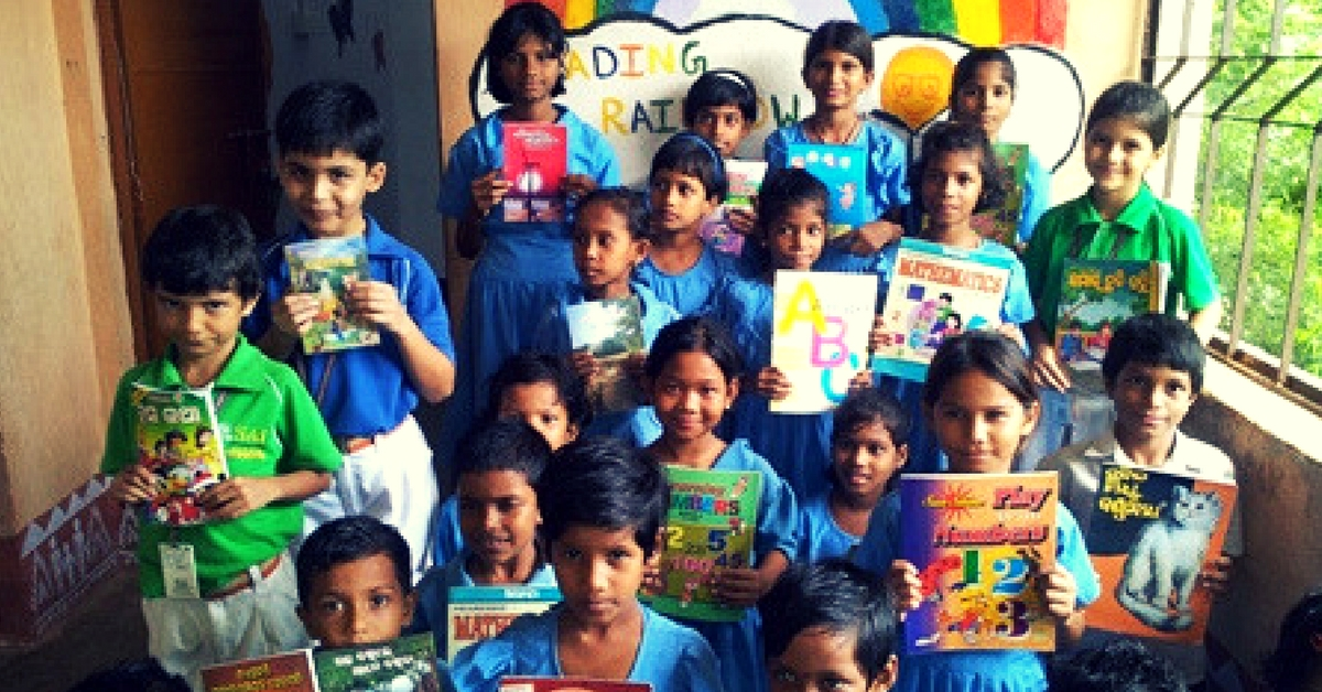 These Kids Built a Library for Govt School Children From Scratch to Spread Love & Learning