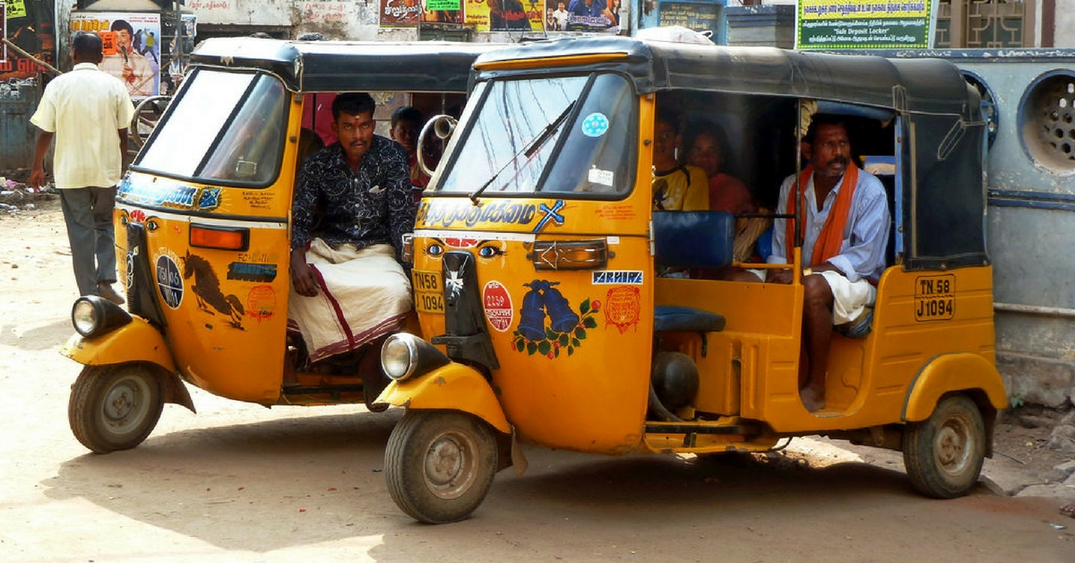 Why This Coimbatore Auto Driver With a Postgrad Degree Gives Free Rides to Pregnant Women & Kids