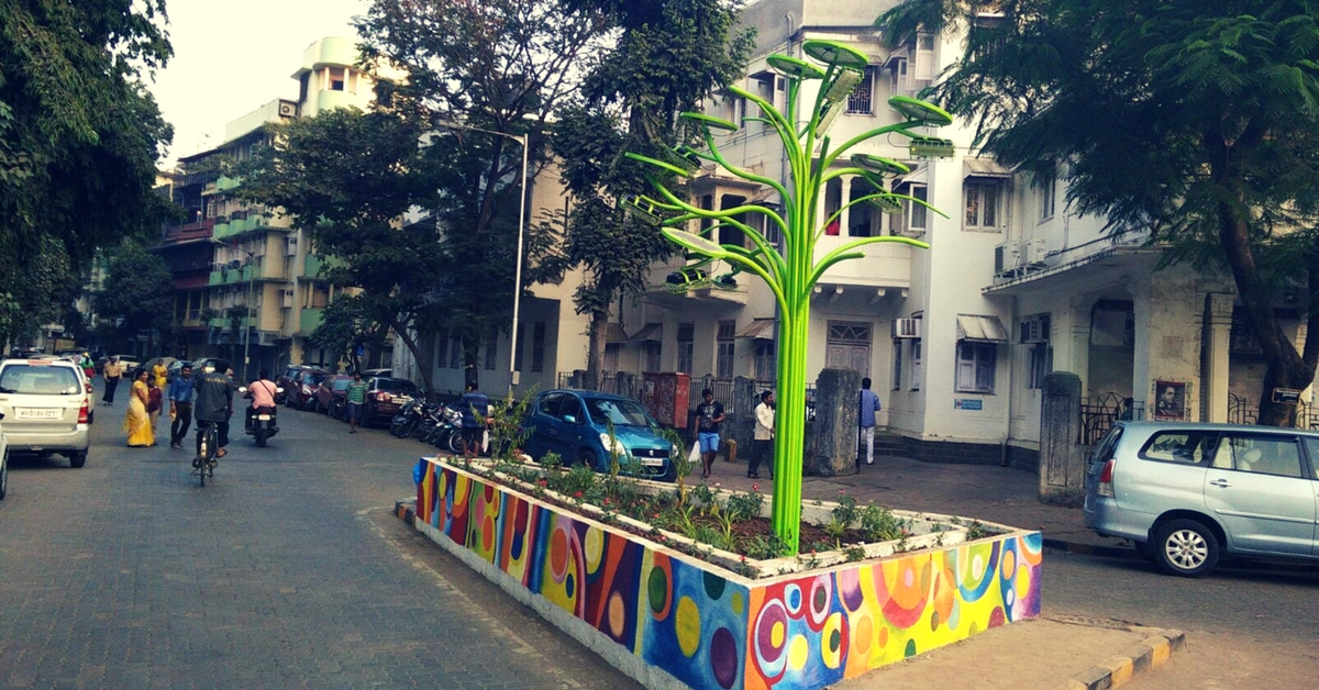 Solar Trees & Eco-Friendly Loos: How a Mumbai Startup Is Helping India Go Green