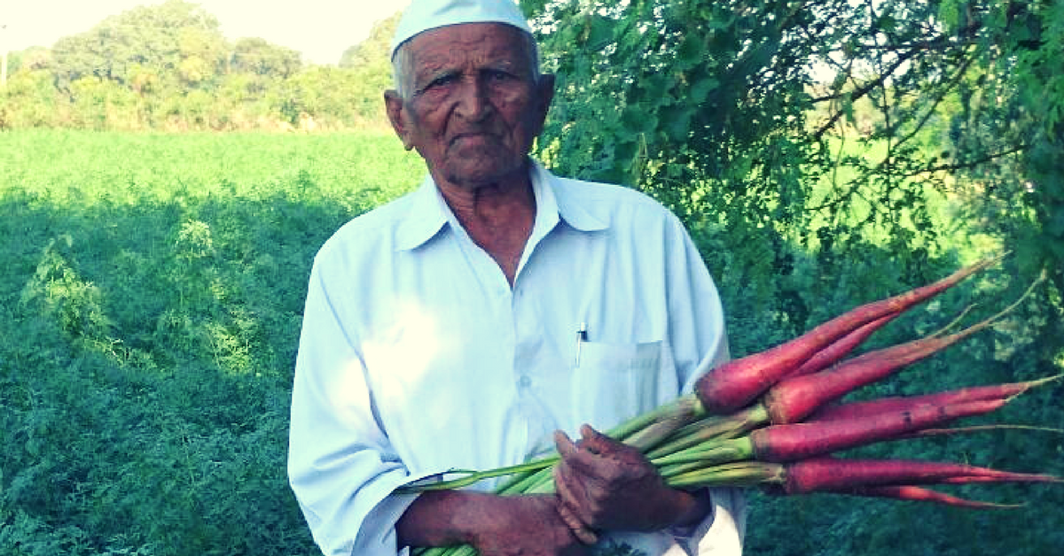 This 95-Year-Old Won an Innovation Award for Introducing Carrots to Gujarat in 1943