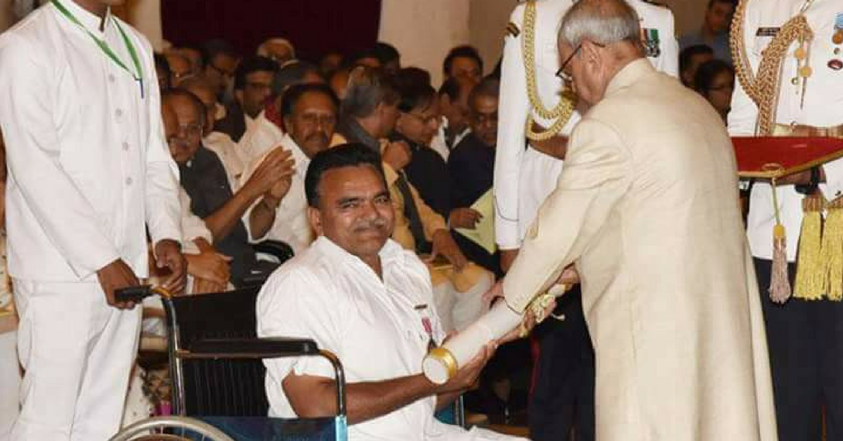 A Differently Abled Farmer Grew Pomegranates to Help 60,000 Others & Received a Padma Shri for It!