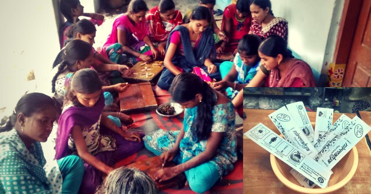 Empowerment & Environment : Slum Women Convert 300 Kg of Flower Waste Into Incense Sticks Each Week