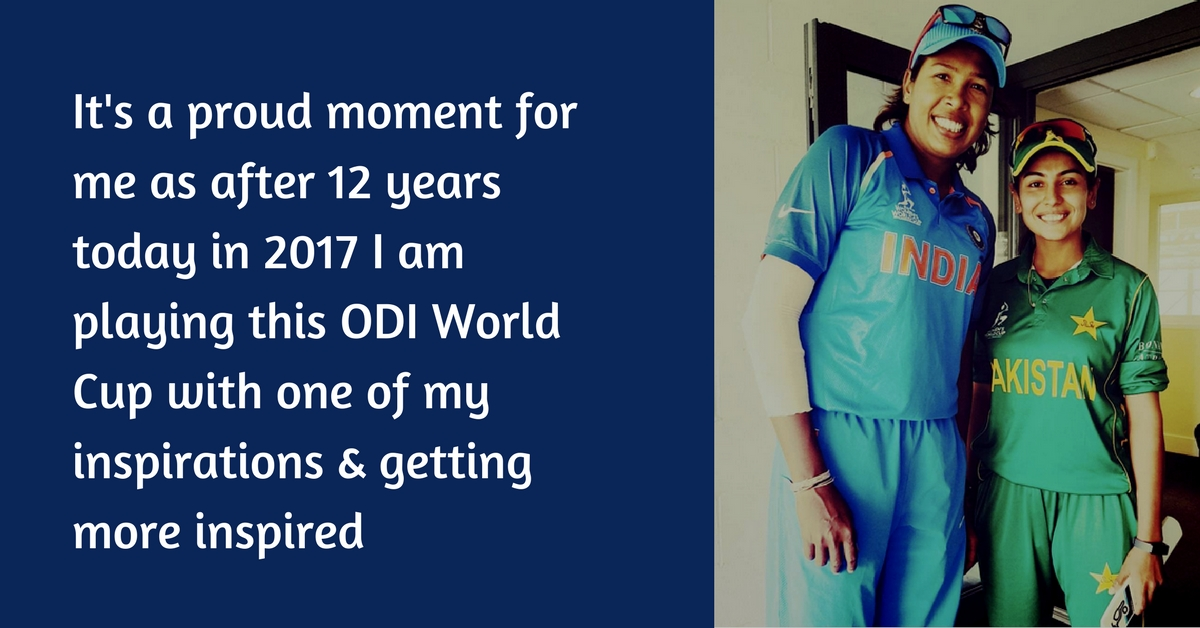 A Pakistani Cricketer Met Her Indian Inspiration After 12 Years & Shared This Heartwarming Story