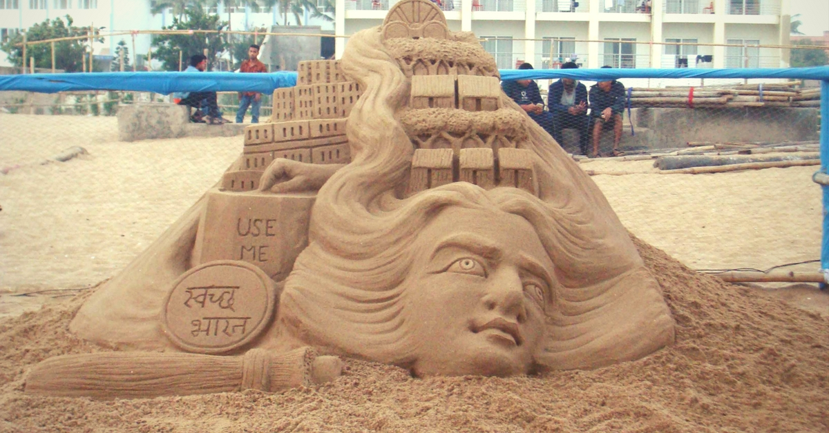 Just Sand, Water & Some Brilliant Art – Behind the Scenes With Puri's Fascinating Sand Artists