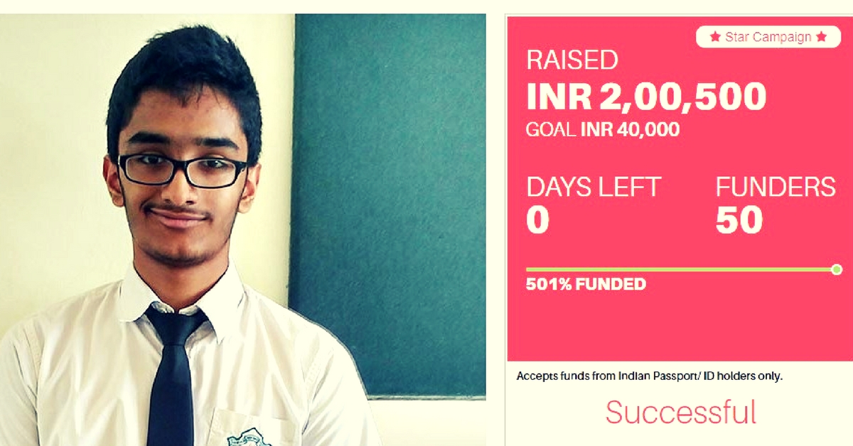 This 15-Year-Old Single-Handedly Raised ₹2 Lakh to Save 5 Kids Suffering From a Heart Disease
