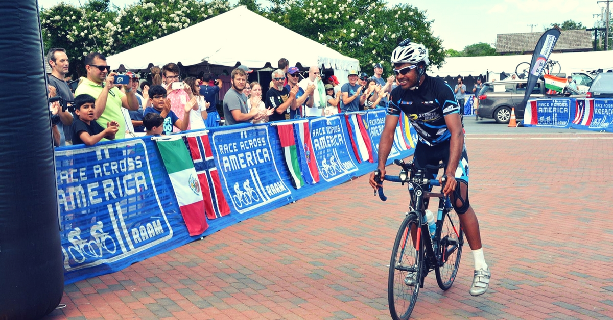 Meet the First Indian to Complete the World's Toughest Cycling Race – 4,900 Km Across America