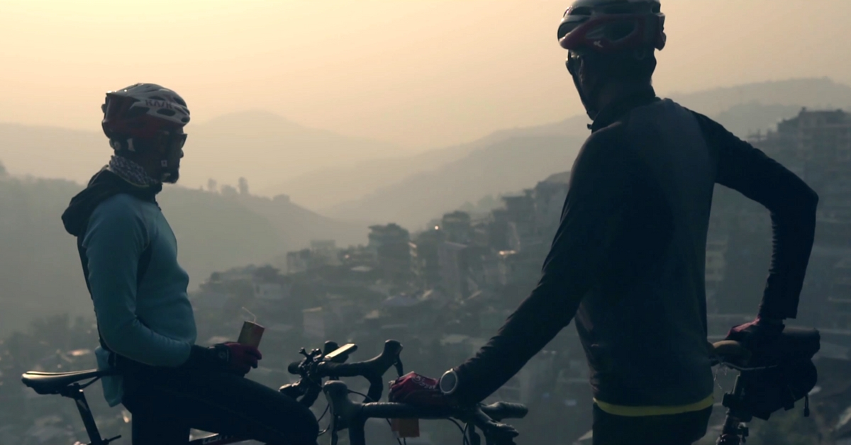 WATCH: The First Indian Duo to Cycle From Mumbai to Bangkok in 60 Days & Their Powerful Message