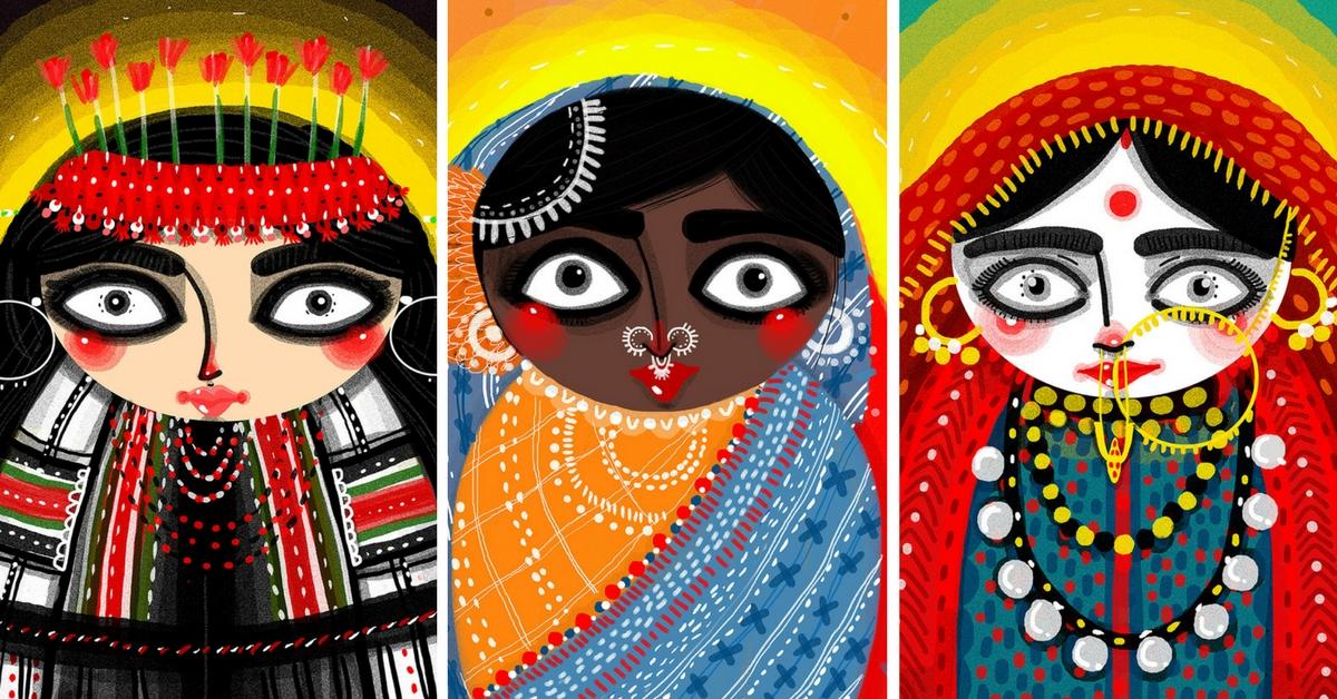 This Uttarakhand Duo Is Capturing India's Costume Culture Through Art