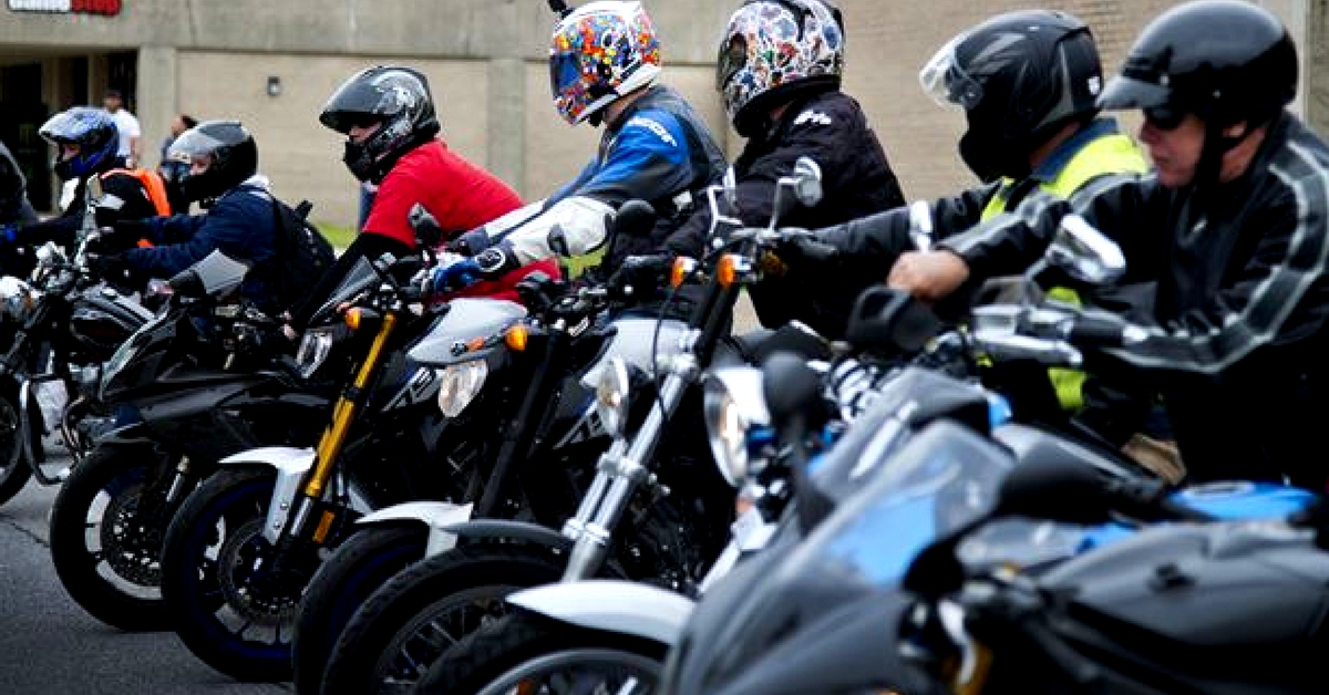 How A Group of Alert Bikers Saved a Woman from Being Abducted in Delhi
