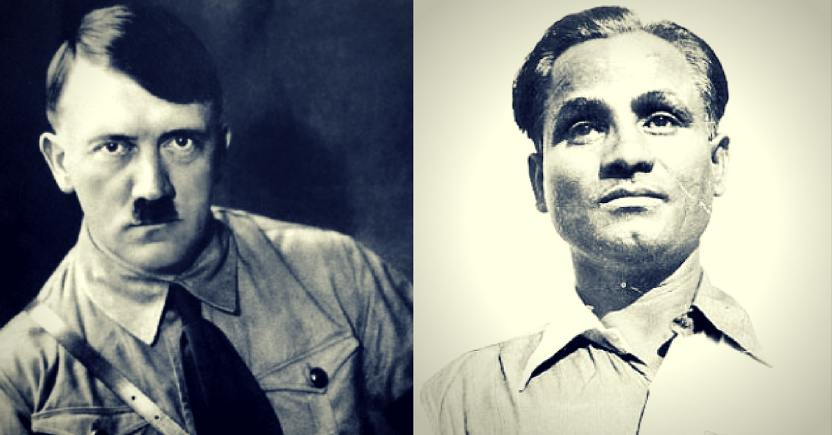 What Happened When Hockey Legend Dhyan Chand Met Adolf Hitler? Here's the Tale
