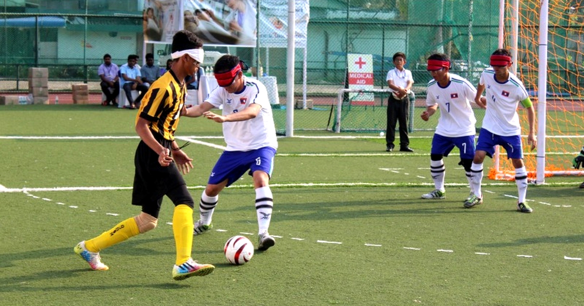 India's First Ever Football Academy for the Visually Impaired All Set to Open