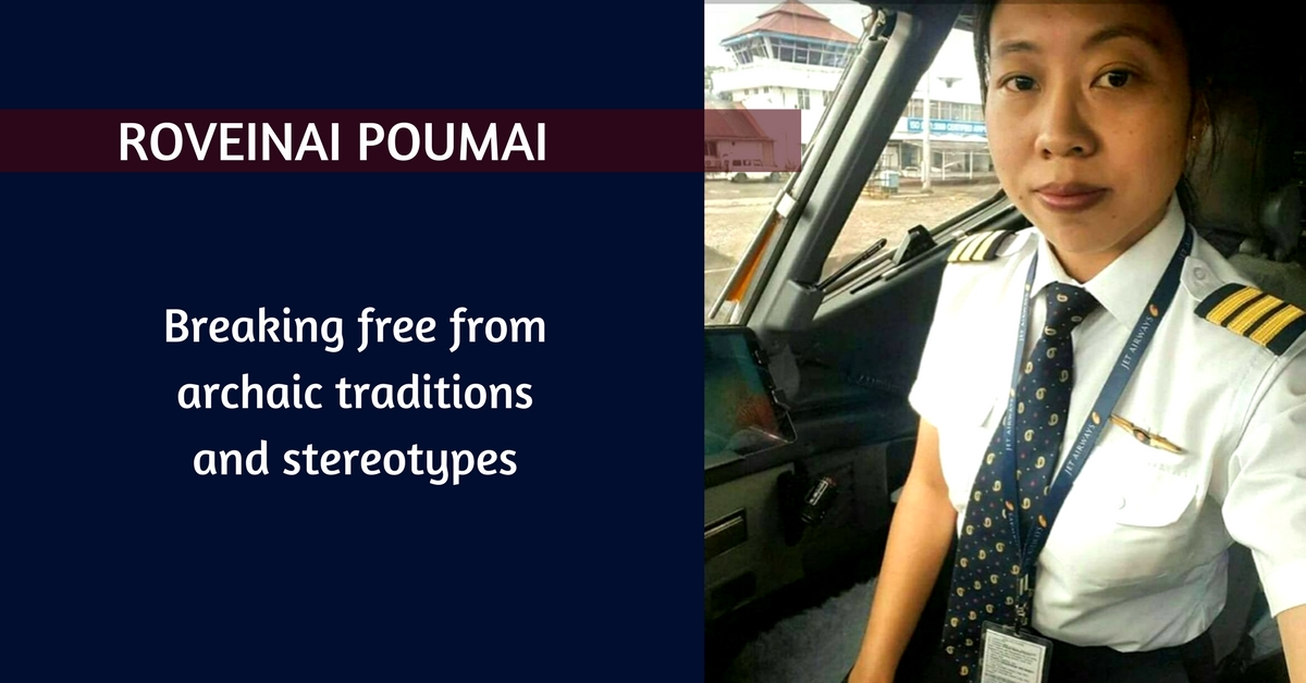 Sky Is Not the Limit for Roveinai Poumai, the First Woman Pilot From Naga Tribe