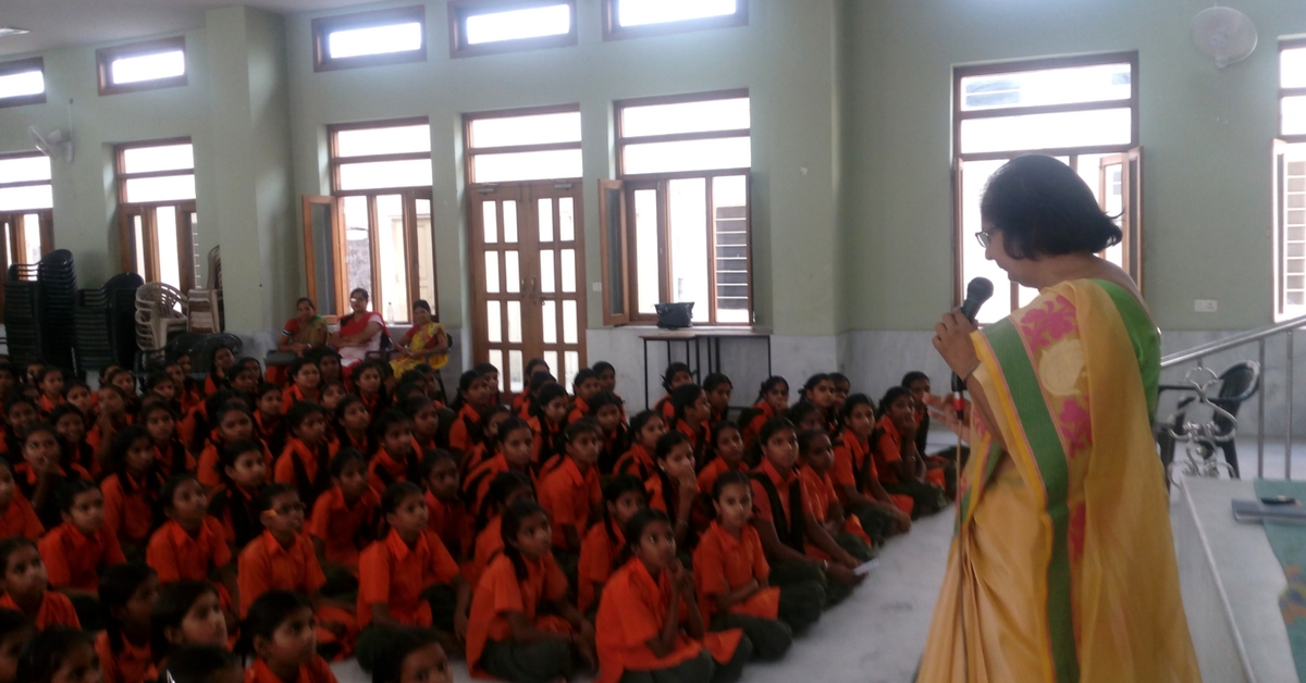 Learning New Lessons! A Retired School Principal Talks About Teaching Underprivileged School Girls.