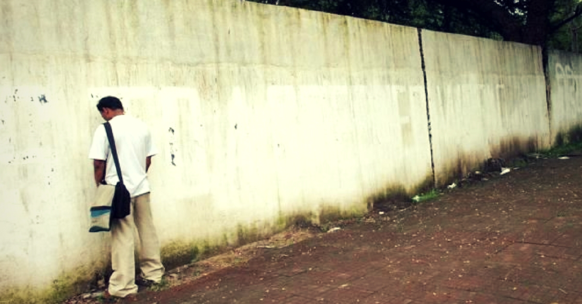 Raise Voices, Not Eyebrows: It's an Offence to Urinate in Public & This Is How You Can Stop It