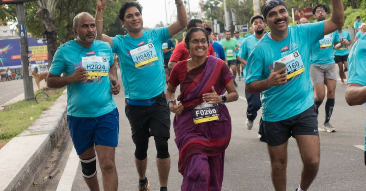 Interview: 44-Year-Old Jayanthi Tells Us How, and Why, She Ran 42km in a Saree!