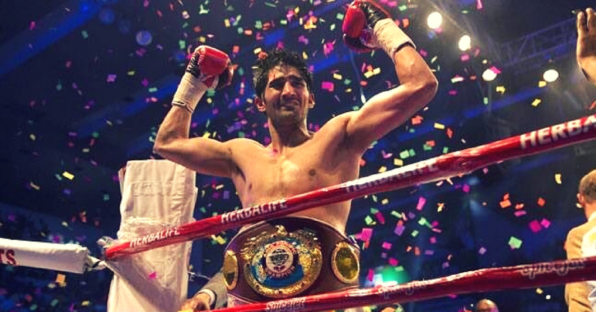 Vijender Singh's Message of Peace – Returns WBO Belt to Chinese Rival for India-China Peace
