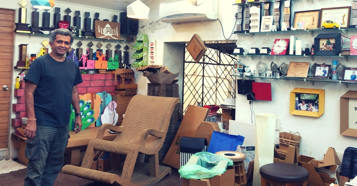 Cradles to Coffins: This Mumbai Entrepreneur Uses Cardboard to Make Eco-Friendly Furniture & More