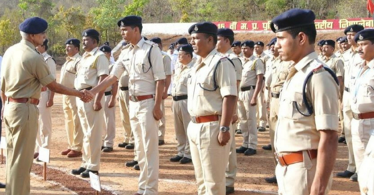 This MP Cop Ran 1km With a 10kg Bomb to Save 400 Students!