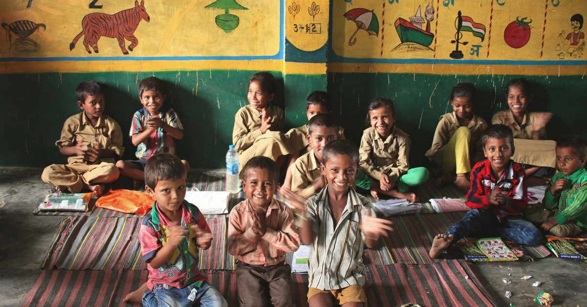 With No Building or Supplies: How Two Rajasthani Youngsters Got Students Back to School