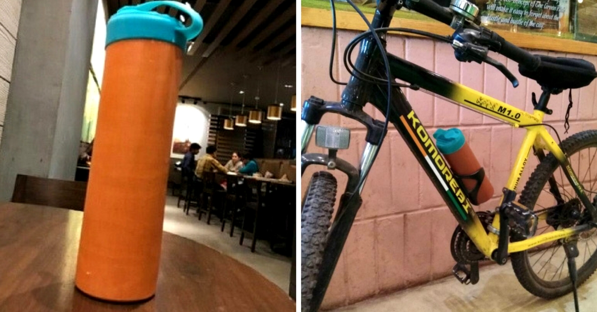 New-Age Matka: This Man's Innovation Is a Great Alternative to Plastic Bottles