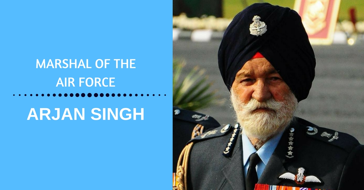From Pilot at 19 to Air Chief at 44: 15 Ways Marshal Arjan Singh Was a Legend