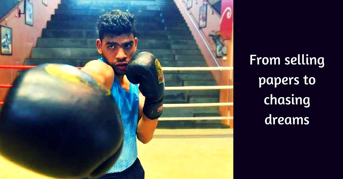 Once He Sold Newspapers, Now This Pune Boy's Boxing Dreams Are Coming True