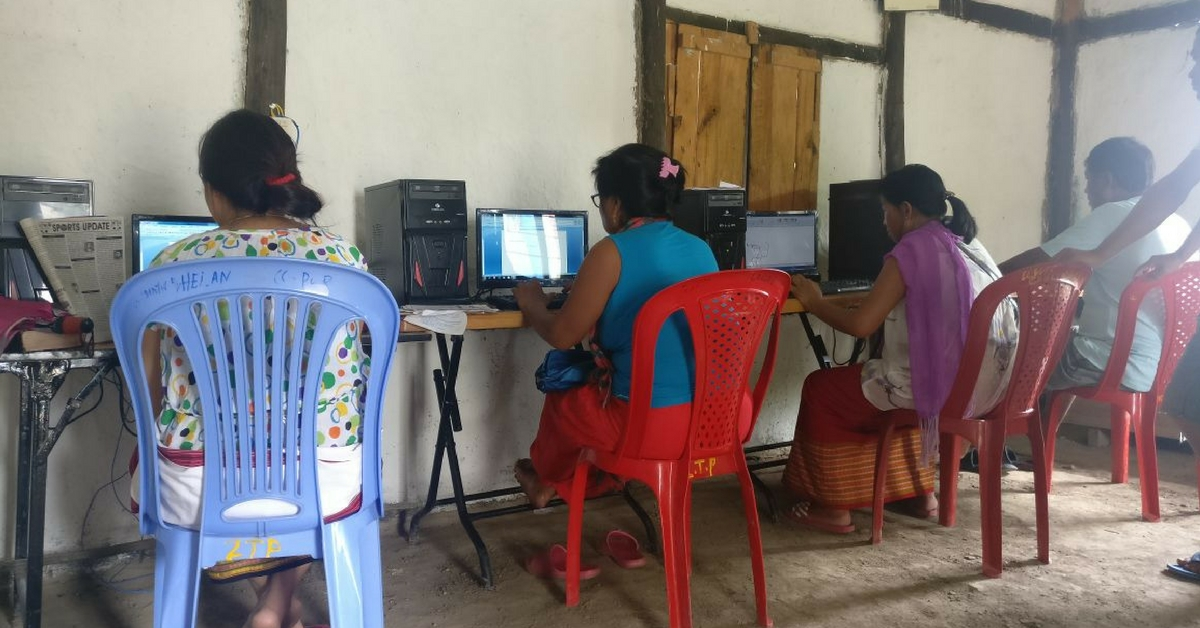 A Village In Manipur Is Now 100% Computer Literate, Thanks To This Organisation