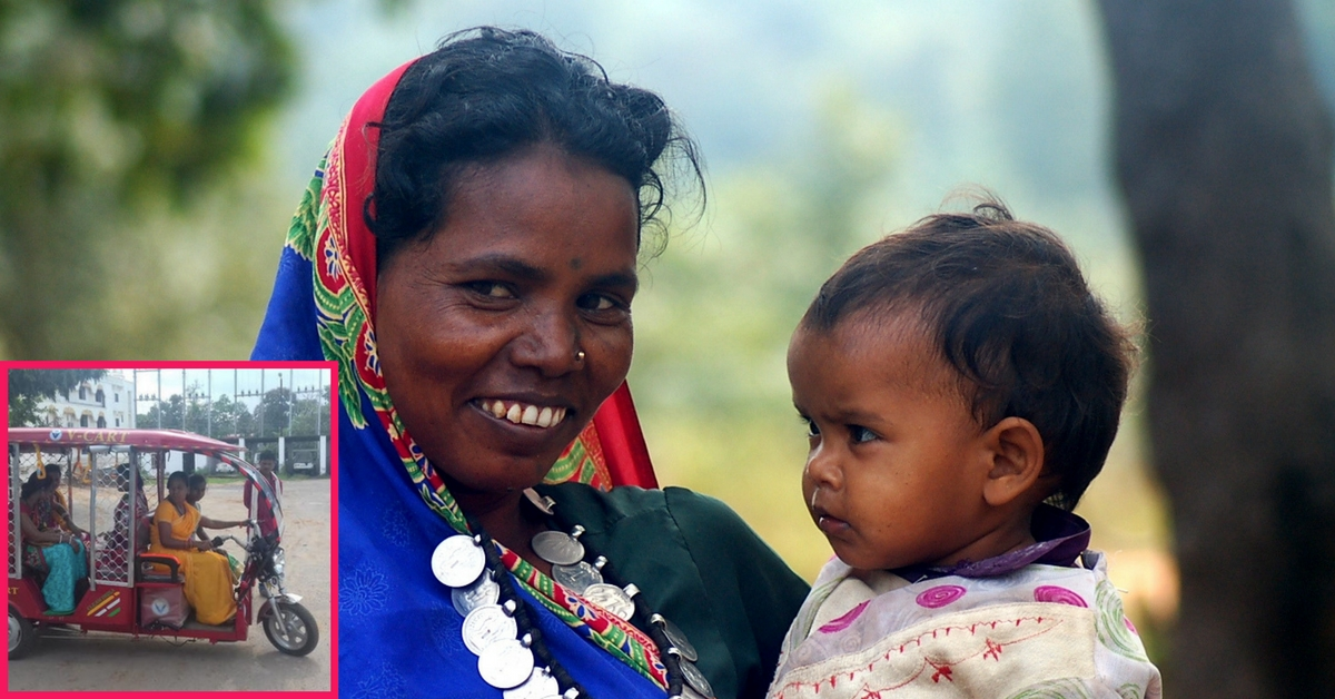 Dantewada's Tribal Women Will Now Be E-Rickshaw Drivers! Know More