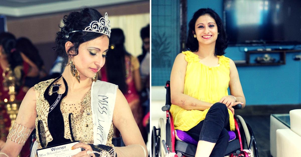 Miss India Wheelchair Priya Bhargava All Set to Compete at Miss Wheelchair World!