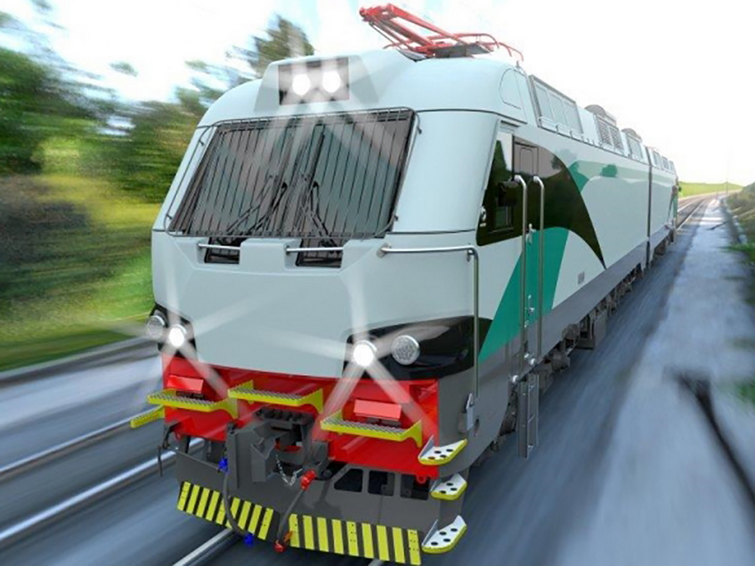 """The electric locomotives for Indian Railways are finally being inaugurated today Source: <a href=""""http://www.railwaygazette.com/news/traction-rolling-stock/single-view/view/alstom-delivers-first-locomotive-bodyshell-to-india.html"""">Railway Gazette</a>."""