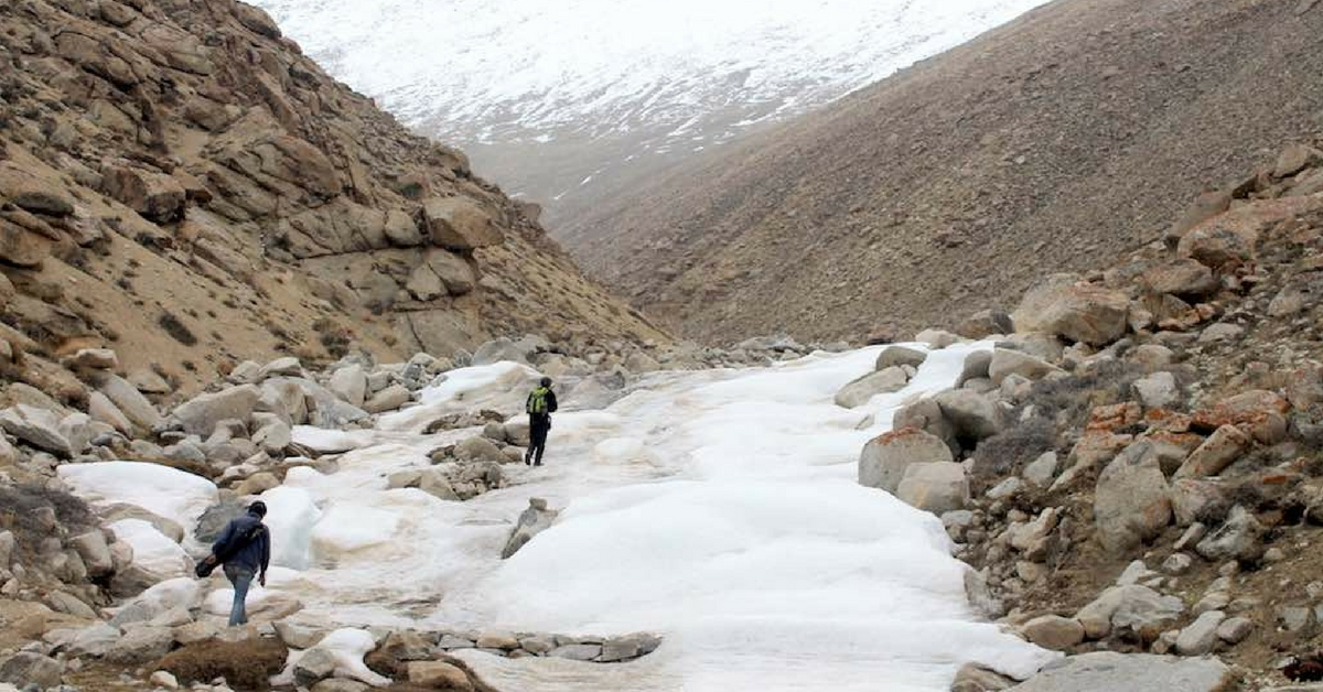 Water Scarcity? Ladakh Villages Are Building Artificial Glaciers to Fix the Issue!