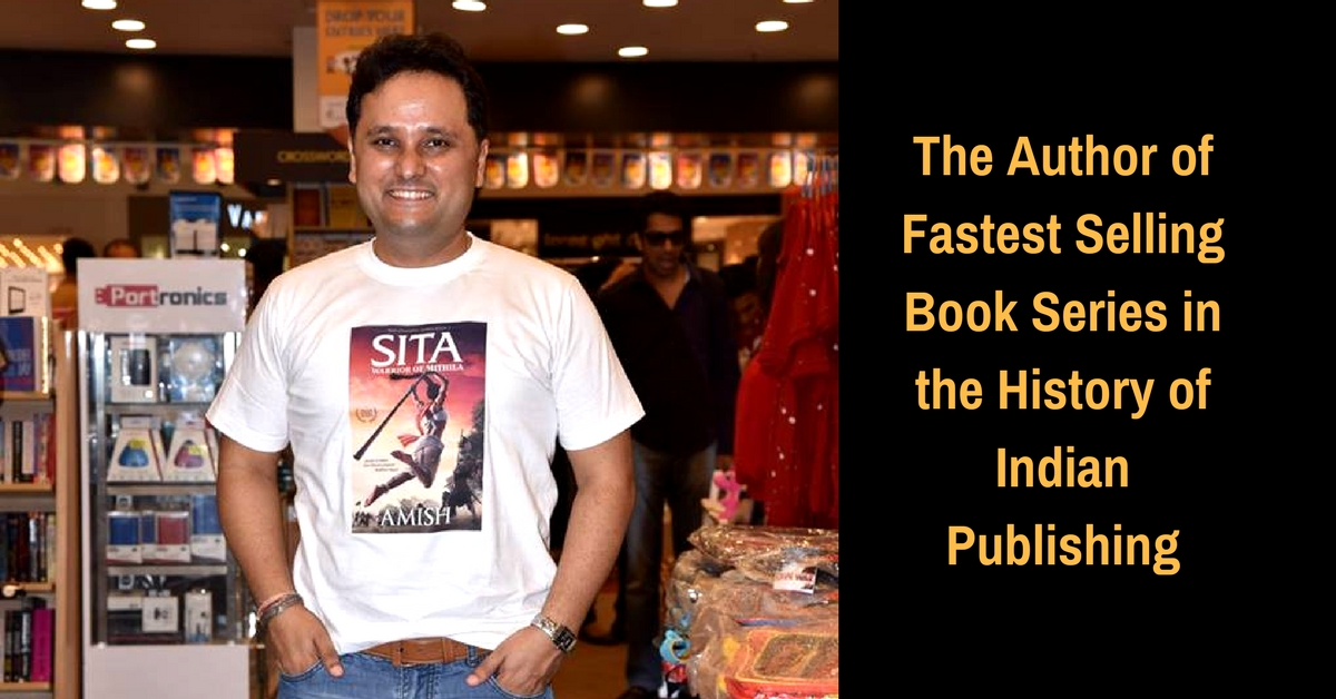 In Conversation With Amish Tripathi, The Banker-Turned-Writer Making Mythology Cool Again
