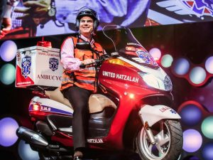 Motorcycle ambulances for emergency