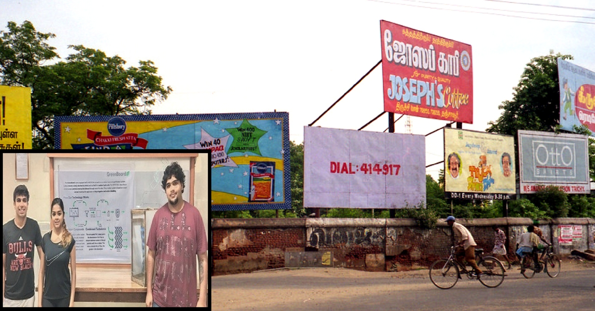 A Billboard That Purifies Air! These Manipal Students Have Devised an Awesome Innovation!