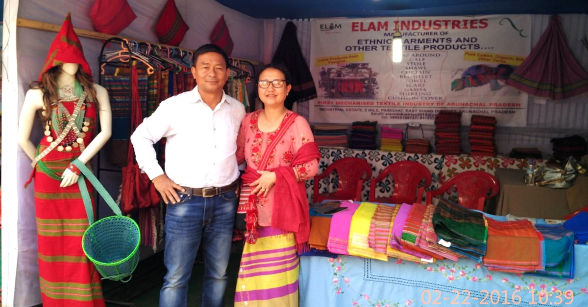 How a Retired IAF Pilot Created Arunachal's First Mechanised Textile Factory
