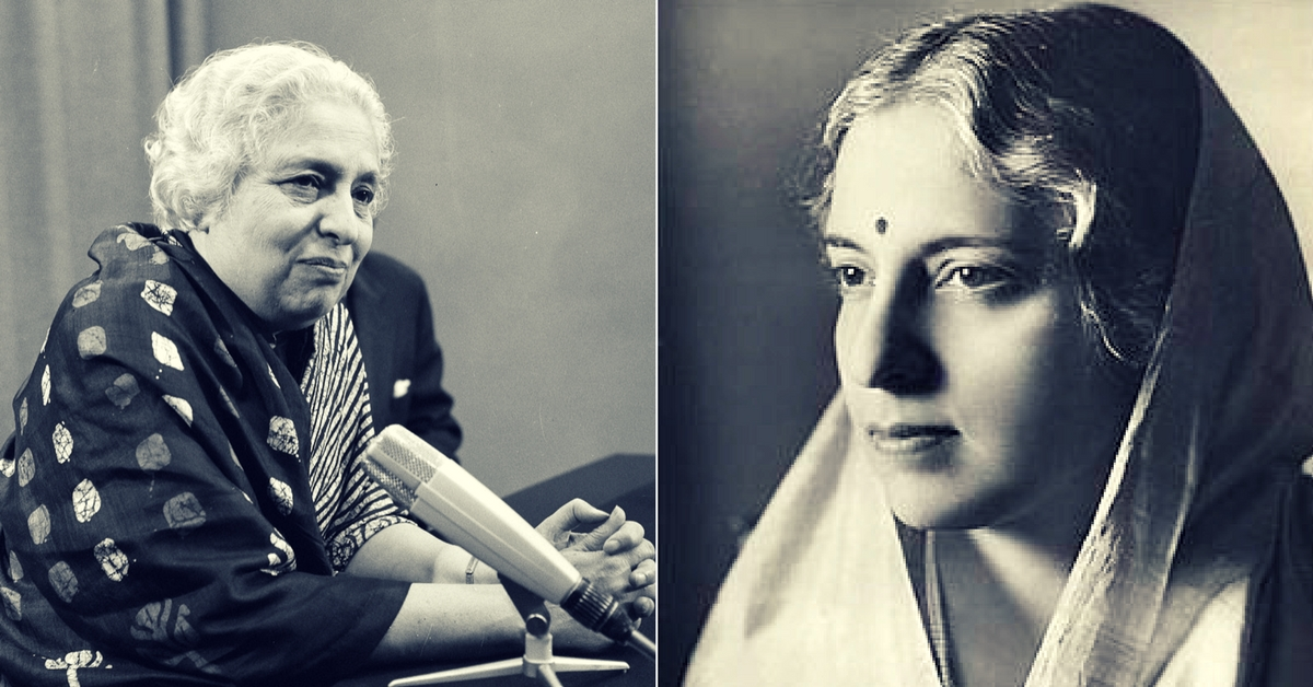 How Vijaya Lakshmi Pandit Built a Political Career in British India's Man's World