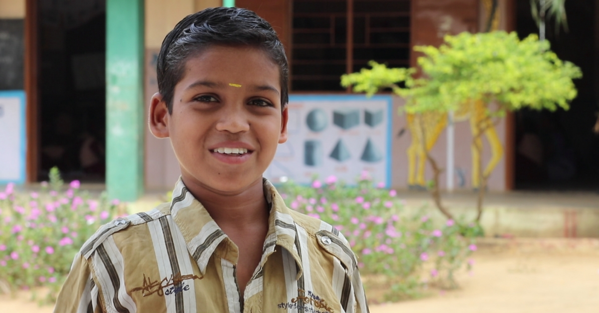How a 12-Year-Old Opened the Gates for Education for Kids in His Community