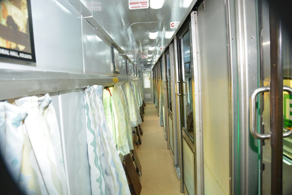 Rajdhani-Swarna Coaches- Indian Railways (1)