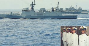 Indian Navy. Inset Photo Credit: The Times of India.