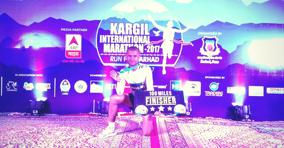 Kargil International Marathon. Picture Credits: Facebook.