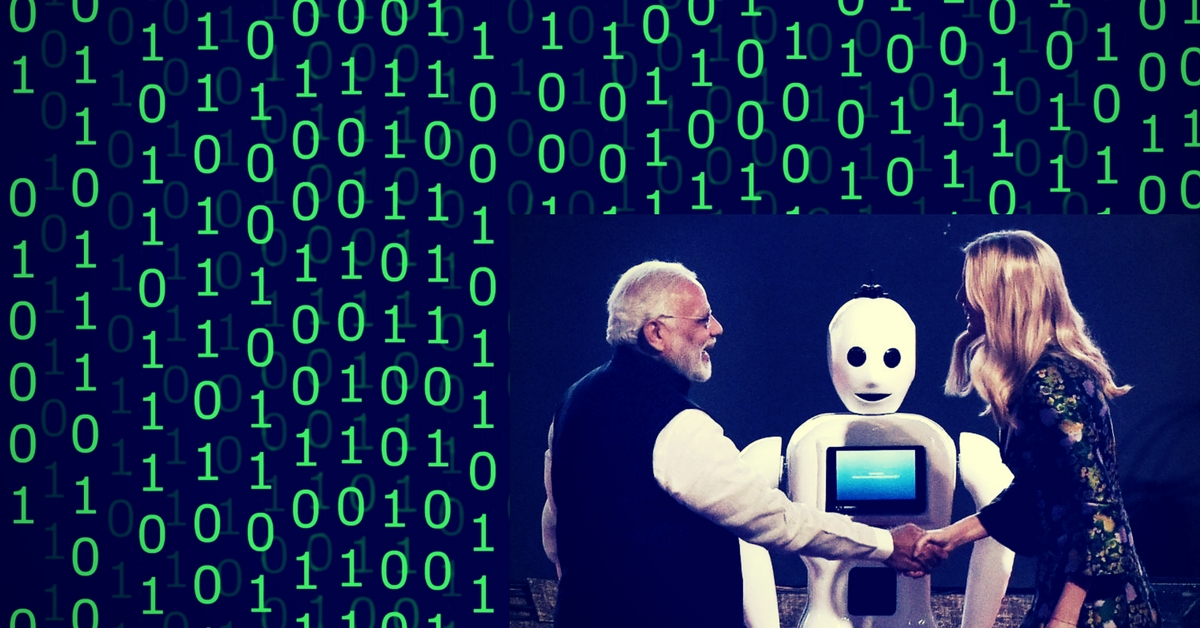 Meet Mitra, an Indigenously-Built Robot That Greets You with a 'Namaste'