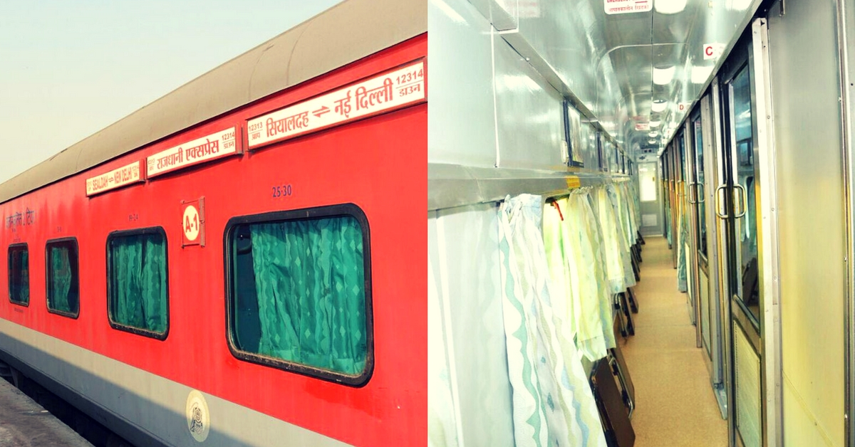 In Pics: Railway Lovers, Here's a Look at the All-New Swarna Rajdhani Coaches!