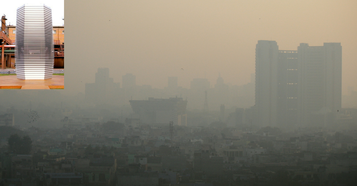 This Dutch Innovator's Project Could Clean up Delhi's Smog!