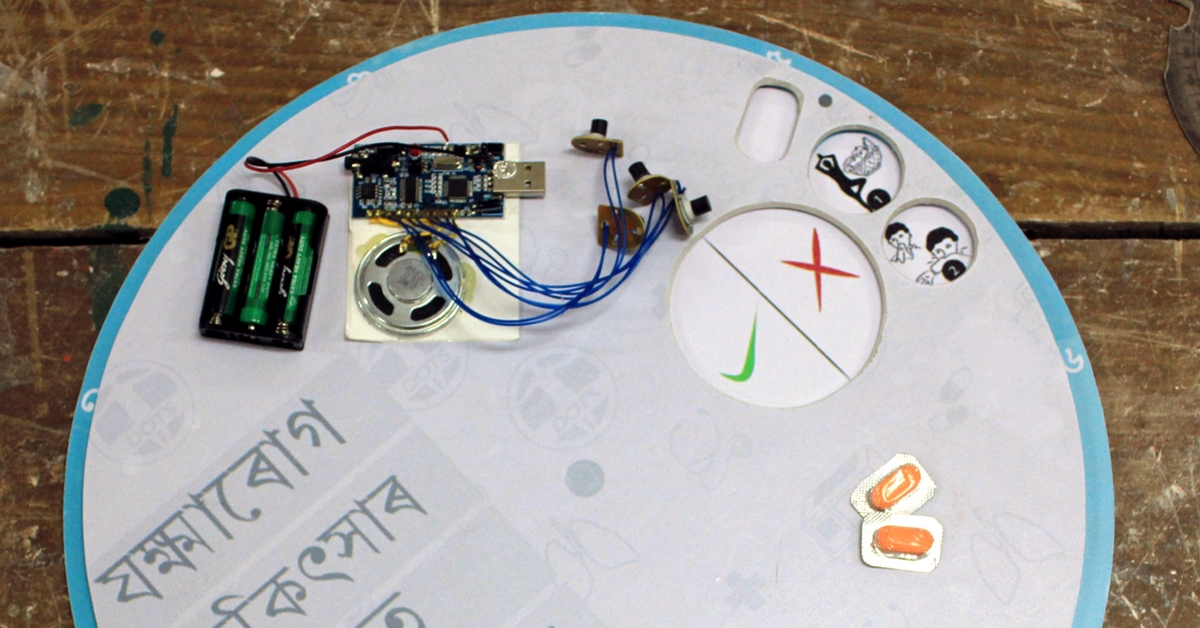 IIT Student Comes up with a Plate-Shaped Device to Treat TB Patients with a Twist!